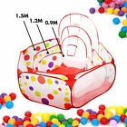 Foldable Kid Children Ocean Ball Pit Pool Outdoor Indoor Play Toy Tent 3 Sizes
