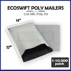"1-10000 14 x 17 ""EcoSwift"" Poly Mailers Envelopes Plastic Shipping Bags 2.35 MIL"