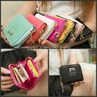 Fashion Lovely Lady Purse Clutch Women Wallets Short Small Bag Card Holder HUK