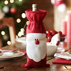 Avon Santa Claus Father Christmas Wine Bottle Cover Christmas Table Decoration