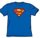 Superman New T-Shirt: Classic Logo Style Adult