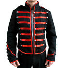 BAND PARADE VICTORIAN MILITARY ROCKABILLY STEAMPUNK ARMY GOTHIC JACKET COAT PUNK