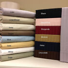 Full Stripe 300-Thread-Count  Bed Sheet Set 100% Egyptian Cotton, Sateen Stripe