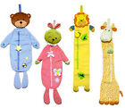 Baby Toddler Decor Nursery 3D Embroidery Animal Plush Measure Growth Chart NEW0+