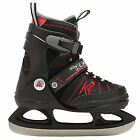 K2 SK8 Hero Ice Skate adjustable kids skates (black red) NEW