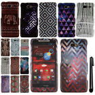 For Motorola DROID RAZR M XT907 Mandala Galaxy PATTERN HARD Case Cover + Pen