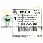 Bosch Genuine Fixing Screw+Washer PMF 180 E Multi Cutter Saw Tool 2 609 000 295