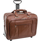 """McKlein USA West Town Checkpoint 17"""" Wheeled Laptop Wheeled Business Case NEW"""