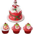 Elf On The Shelf Cake Topper or Cupcake Rings  Party Christmas Bake Man Design