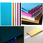 New Ultrathin 50000mAh Portable Charger Dual USB External Battery Power Bank ER