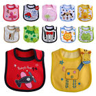 Baby Towels Comfortable Bibs Cute Pattern Style Bib Infant Cotton Multi-color AS