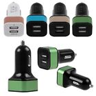 New Dual USB 2 Two Port Car Charger 12V Power Adapter for Samsung Galaxy Phone