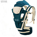 Baby Outdoor Backpack Hip Stool Seat Infant Kid Carriers Sling + Hip seat + Hood