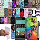 For HTC Desire 520 TPU PATTERN SILICONE Rubber GEL Soft Case Phone Cover + Pen