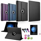 """4in1 360 Rotating Leather Stand Case Cover+Film+3.5mm Stylus For iPad Pro 12.9"""""""