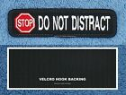 STOP DO NOT PET DISTRACT SERVICE DOG PATCH 1X4 INCH Danny & LuAnns Embroidery