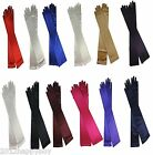 New Wedding Forma Long Satin Stretch Gloves Above Elbow Bridal Prom Party Gloves