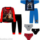 BNWT STAR WARS LUCAS FILMS LICENSED BOYS PYJAMAS PANTS SIZES 3 - 10 YEARS
