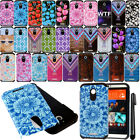 For HTC Desire 510 512 Shockproof HYBRID Rugged HARD SOFT Case Cover + Pen