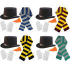 CHRISTMAS SNOWMAN 4 PIECE SET FANCY DRESS COSTUME ACCESSORY KIT MOVIE CHARACTER