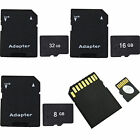 New 8GB 16GB 32GB Micro SD TF Memory Card Class 10 For Smartphone Camera Tablet
