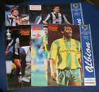 WEST BROMWICH ALBION HOME PROGRAMMES 1989-1990