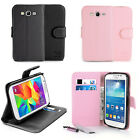 New Stand Magnetic Leather Wallet Flip Case Cover for Samsung Galaxy Grand Plus