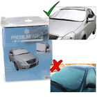 CAR WINDSHIELD WINDSCREEN COVER FROST SNOW ICE PROTECTOR SHIELD FRONT BACK AUTO