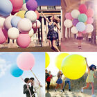 "New 36"" Giant Big Ballon Latex Birthday Wedding Party Helium Decoration 10 Color"