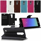 Magnetic Flip PU Leather Wallet Case Cover Stand For LG Spirit 4G LTE H440N H420
