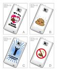 Funny Poop Pop Smiley Quirky Joke Hard Back Case for Samsung Galaxy S2 i9100
