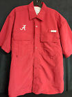 University of Alabama Men's Crimson Fishing Shirt