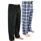 2 Pack: Rugged Frontier Men's Plaid Fleece Lounge Pant Assorted Colors