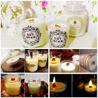 Внешний вид - 30Pcs 3 Sizes Candle Wood Wick with Sustainer Tab Candle Making Supply