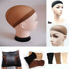 2PCS Unisex Nylon Stretch Mesh Elastic Stocking Wig Liner Cap Snood