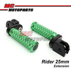 """M-Grip CNC 1"""" Adjustable Riser Front FootPegs for Yamaha Vmax 1700 09 10 13"""