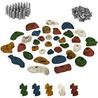 35 Children Kids Climbing Holds grips stones incl. Screws and T-Nuts Rock Wall