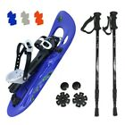 Snowshoe SNOW SPIRIT optional with Telescope Poles HIKER 5000 Snowshoing