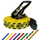 SLACKLINE 25 m 50 mm 3t Tightrope Tight Rope FUNLINE 27 Yards