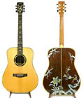 Alulu Solid Indian Rosewood Acoustic Dreadnought Guitar Hummingbird -- NG Series