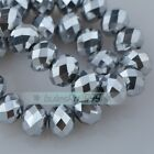 Rondelle Faceted Crystal Glass Loose Spacer Beads Wholesale 3mm/4mm/6mm/8mm/10mm <br/> Bug 1, Get 1 at 10% OFF  Big Promotions