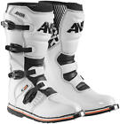 ANSR AR-1 White Motocross Supercross MX SX Race Boot White