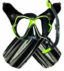 NEW BWS Ultimate Snorkel Set - Premium Mask Fins and Snorkel Set Combo Package