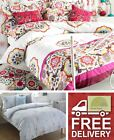 100% Cotton Percale Quilt Duvet Cover Bedding Bed Set 200TC Luxury New