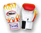 Twins Boxing Gloves - FBGV-7 - Flames ~ Older Year Discounted - Surplus