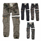 SURPLUS Raw Vintage Damen Premium Trekking Cargo ZIP OFF Hose & Shorts in einem