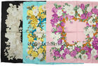 Butterfly 100% SILK TWILL Hand-rolled hem SCARF 21257 COLOR OPTIONS AVAILABLE