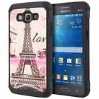 Shock Armor Slim Fit Dual Layer Case Cover For Samsung Galaxy Grand Prime G530