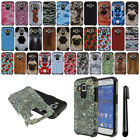 For Samsung Galaxy Core Prime G360 ShockProof HYBRID Rubber HARD Case Cover +Pen