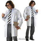 CL702 Dr Getwell Mens Hospital Doctor Lab Coat Halloween Costume Stethoscope